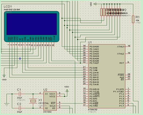 128*64点阵液晶屏程序设计的教程